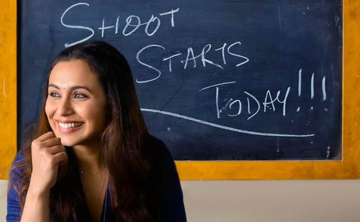 Rani Mukerji Kickstarts Shooting For Hichki!