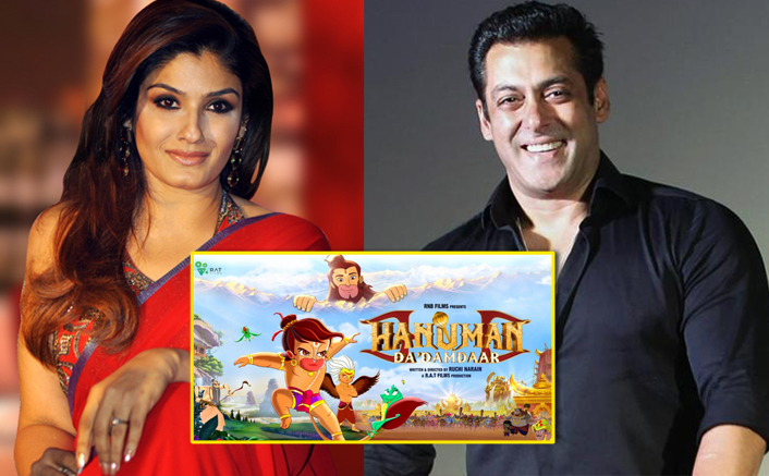 Raveena To Voice Hanuman's Mother In Salman Khan's Hanuman Da Damdaar