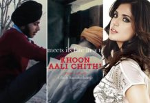 Richa Chadha's debut production - Khoon Aali Chithi releases its poster and trailer!