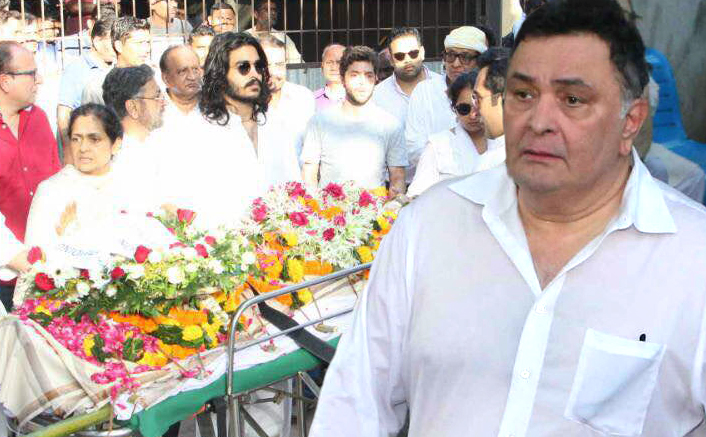 Rishi Kapoor Slams The Current Generation Stars For Not Attending Vinod Khanna's Last Rites