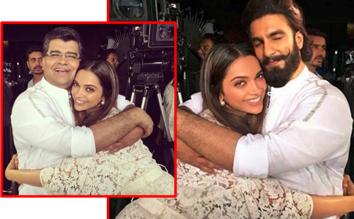 The Tight Hug Picture OF Deepika and Ranveer Going Viral Is Fake! Here's The Proof
