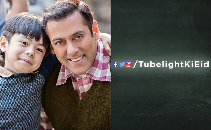 Tubelight's Logo Teaser Is Here & Looks Like This Will Be Salman's Next Blockbuster!
