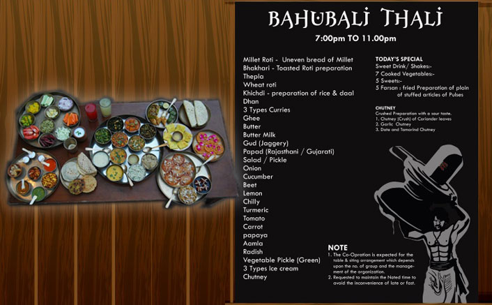 A thali gets named after Baahubali