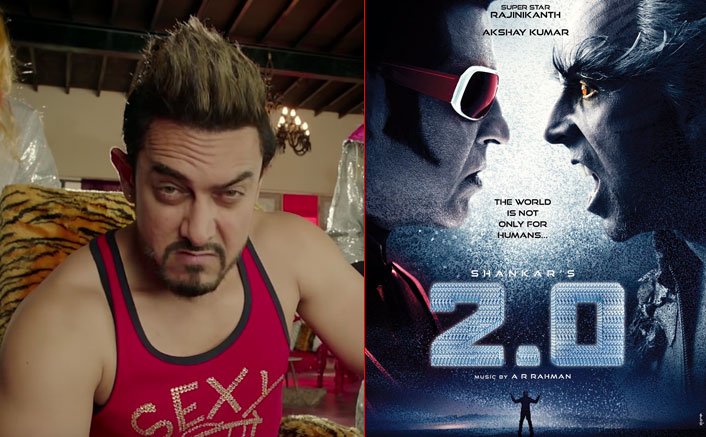 Clash of superstars! Aamir Khan's Secret Superstar vs Rajinikanth's 2.0 on Diwali