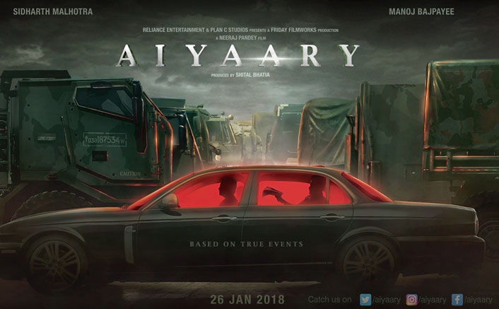 Amitabh Bachchan unveils motion poster of Aiyaary!