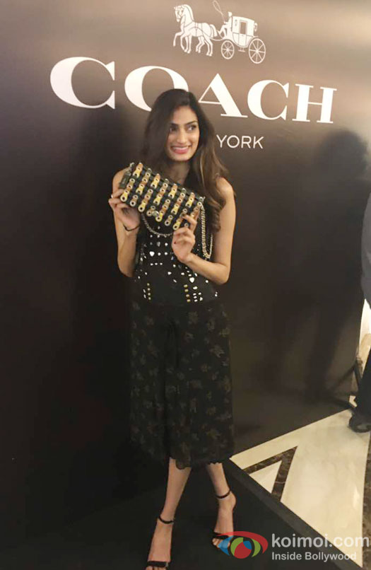 Athiya Shetty launches Coach store in Delhi