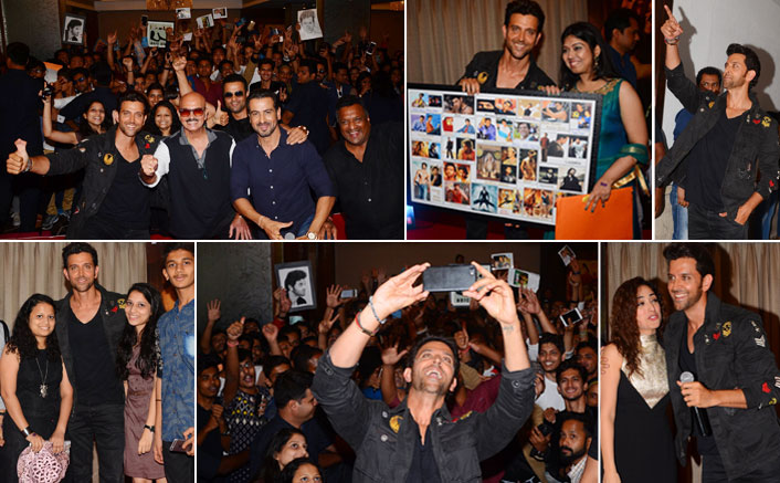 cast and crew of Kaabil celebrated the success of the movie with fans