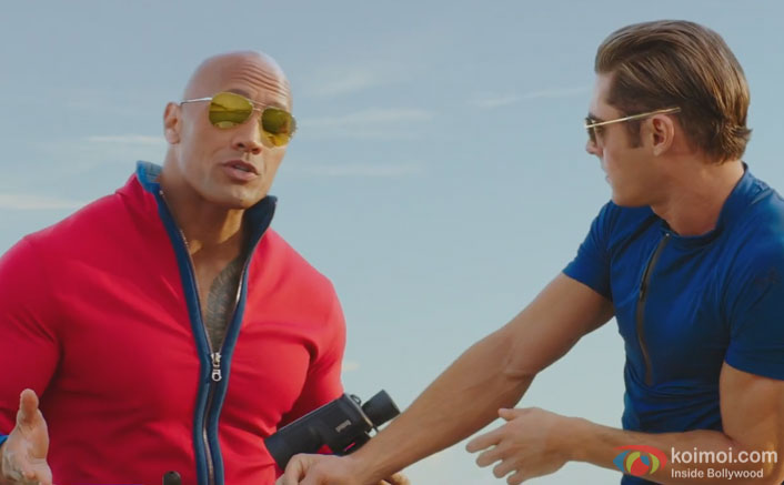Check Out The Hindi Trailer Of Baywatch | Ft. Priyanka, Dwayne & Zac Efron