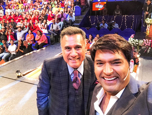 Sabse Bada Kalakaar, the show's judge, Boman Irani was recently seen appearing as a guest on Kapil's show.
