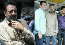 last day shoot of Sanjay Dutt'supcoming movie Bhoomi