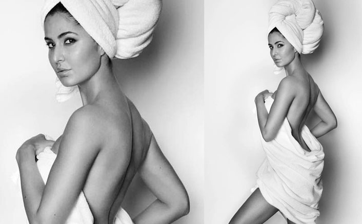 Mirror Mirror on the wall, is Katrina Kaif in just a towel the HOTTEST of them all?
