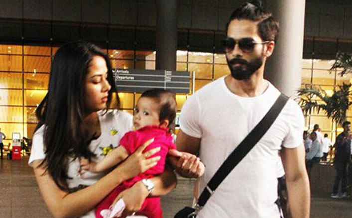 Misha Kapoor's Day Out With Shahid Kapoor & Mira Rajput