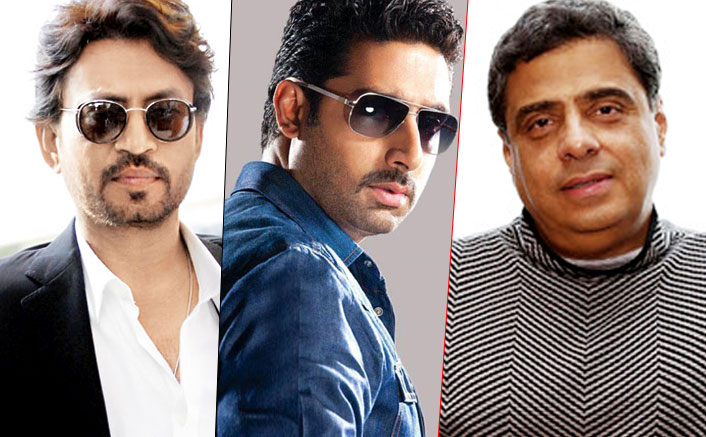 Ronnie Screwvala Signs Abhishek Bachchan & Irrfan Khan For His Next Production