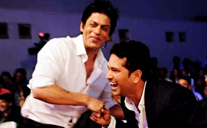 SRK calls Sachin Tendulkar his 'guiding light'