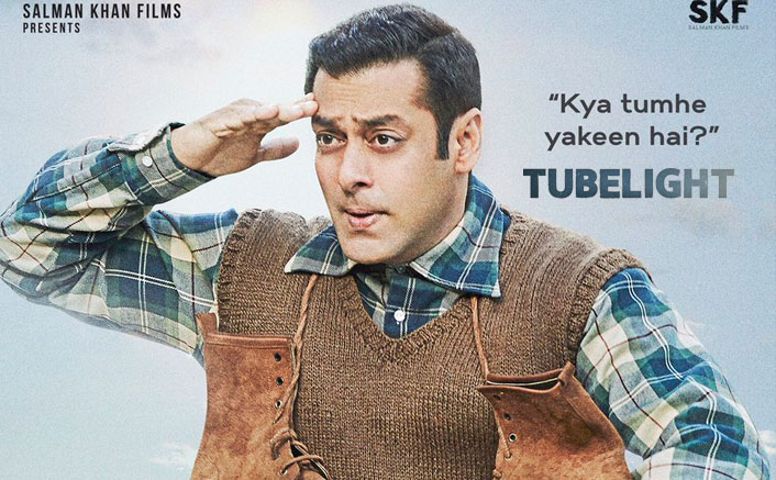 Tubelight Second Poster: Salman Khan's Goofy Look Is Cute