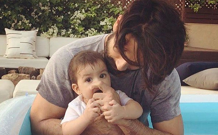 When Shahid shared 'pool time' with daughter Misha