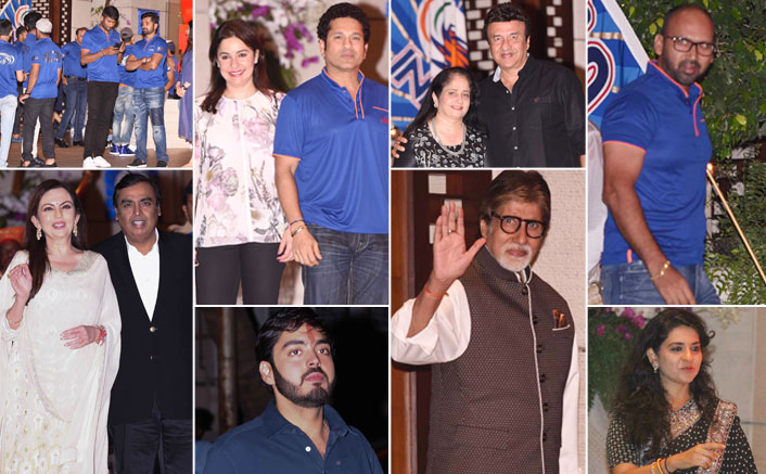 Bollywood Celebrates the Success of Mumbai Indians