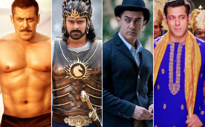 Box Office - Baahubali 2 [Hindi] goes past PRDP, Sultan, Dhoom: 3, has the BIGGEST EVER Weekend