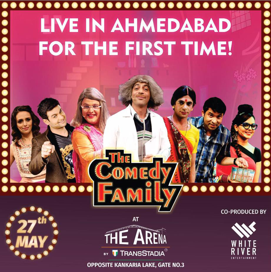 Sunil Grover To Perform Live in Ahmedabad Along With Ali, Chandan, Sanket and Sugandha