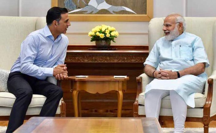 Akshay Kumar meets Modi, discusses 'Toilet: Ek Prem Katha'