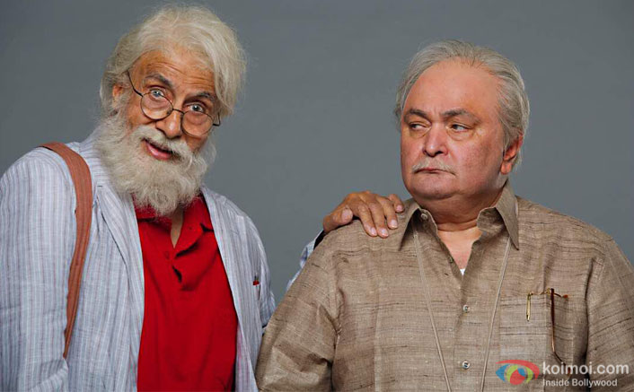 Check Out First Look Of Amitabh Bachchan And Rishi Kapoor Starrer 102not Out