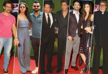 Bollywood Biggies, Indian Cricket Team & Industrialists At Sachin: A Billion Dream's Grand Premiere