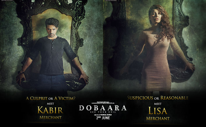 Character Cards Kabir Merchant And Lisa Merchant : Dobaara- See your Evil