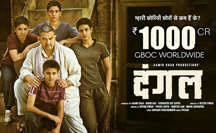 Dangal Becomes 1st Bollywood Film To Enter The 1000 Cr Club