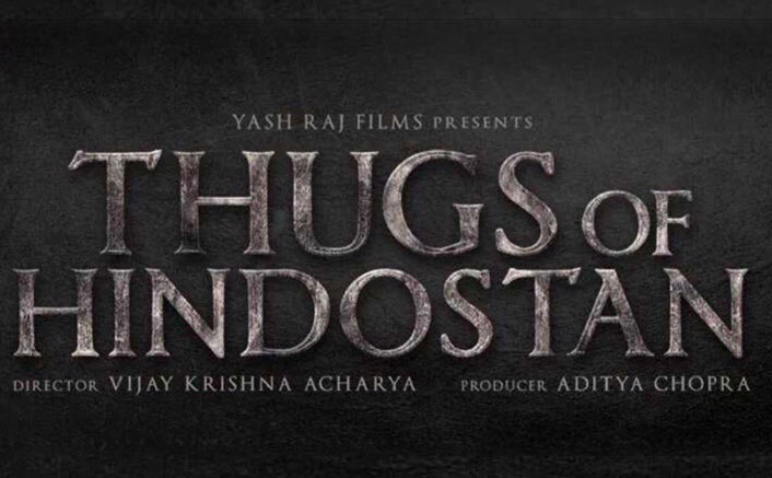 Finally! Here's the Logo of Thugs of Hindostan