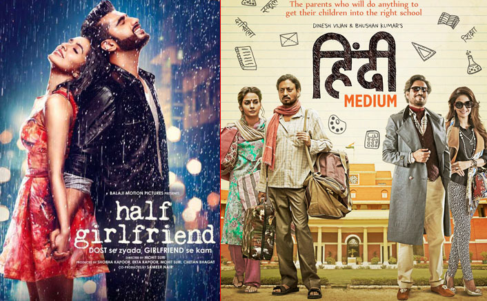 Half Girlfriend and Hindi Medium