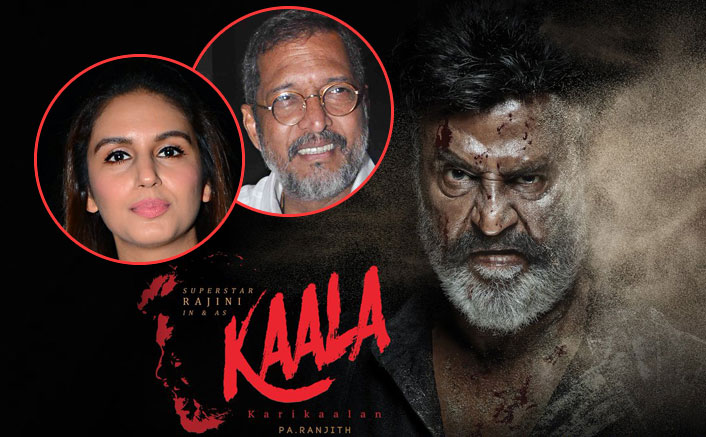 Huma Qureshi and Nana Patekar Join Rajinikanth's Kaala Karikaalan Cast