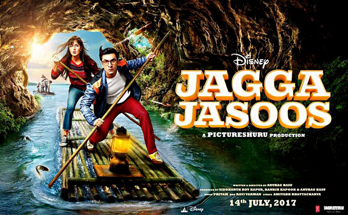 Jagga Jasoos Poster: Katrina Kaif & Ranbir Kapoor Set Off On A Magical Adventure