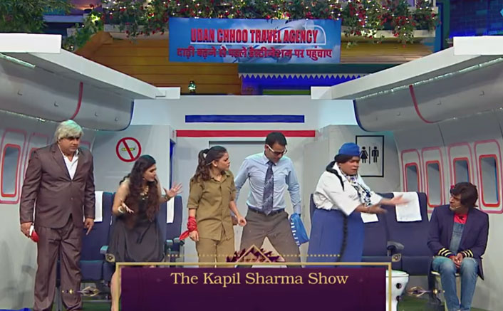 Kapil Jokes About His 'Fight On Flight' With Sunil Grover On Kapil Sharma Show