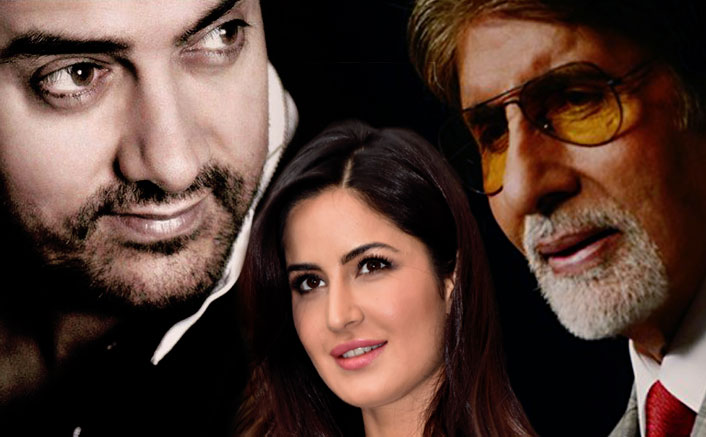 Confirmed: Katrina Kaif Reunites With Aamir Khan & Amitabh For 'Thugs of Hindostan'