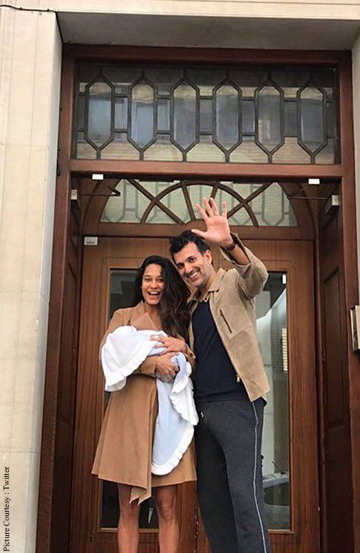 Lisa Haydon, husband blessed with son