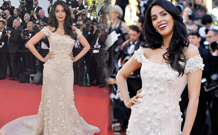 Mallika Sherawat sports Georges Hobeika gown at Cannes