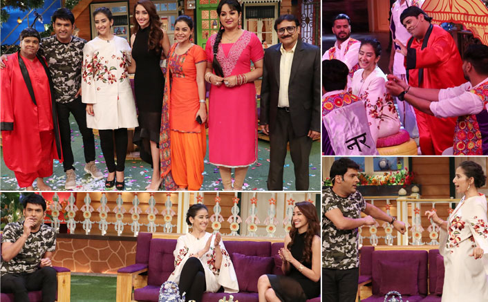 Manisha Koirala on The Kapil Sharma Show