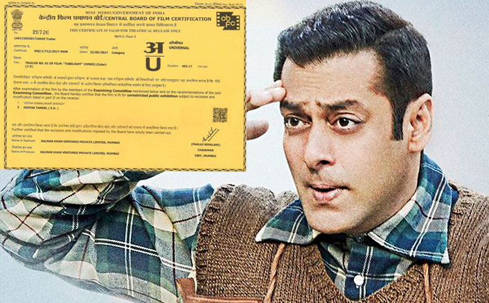 Mark The Date! Salman's Tubelight Trailer To Release On 25th May