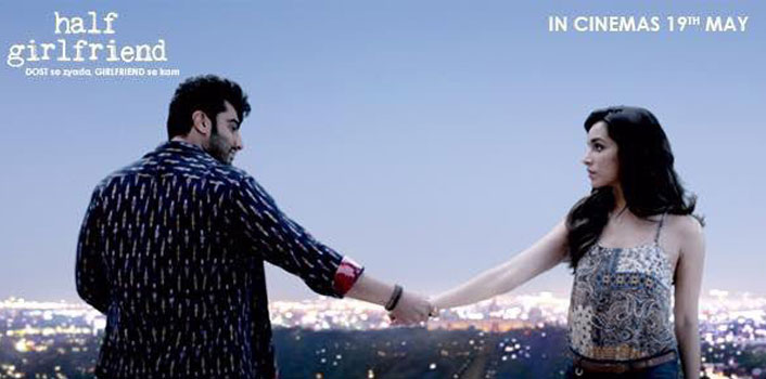 Arjun Kapoor and Shraddha Kapoor in a still from Half Girlfriend
