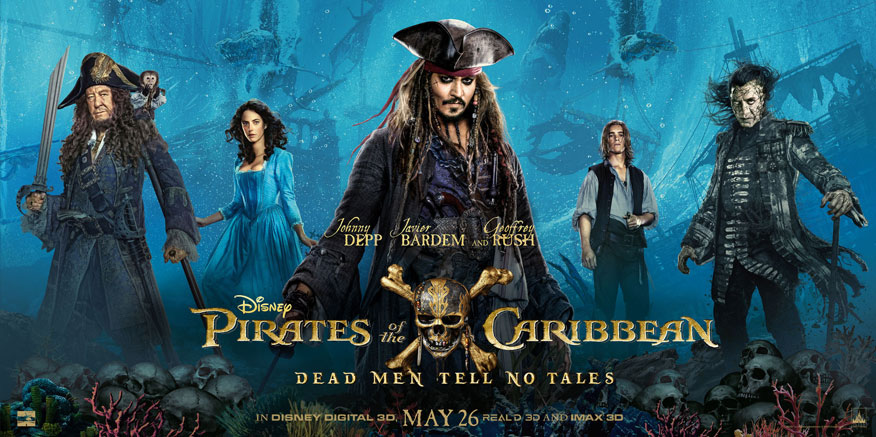 Pirates of the Caribbean: Dead Men Tell No Tales 2017 1080p WEB-DL DD5.1 H.264-EVO ~Cướp Biển 5