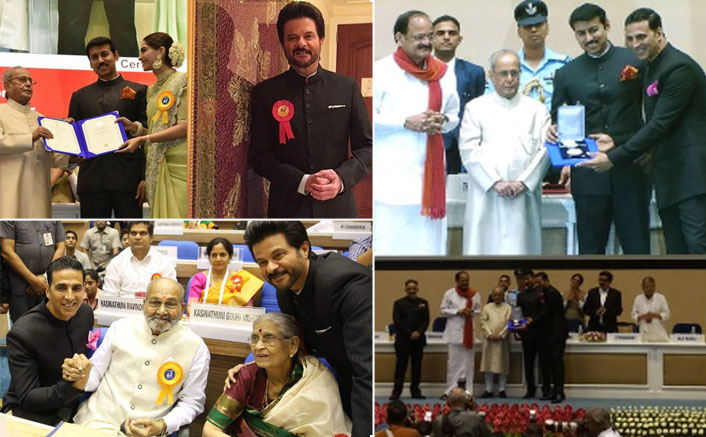 President confers 64th National Film Awards