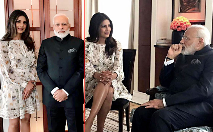 Priyanka Chopra Meet Narendra Modi In Berlin