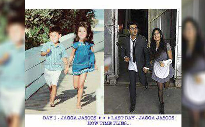 Ranbir, Katrina step out holding hands