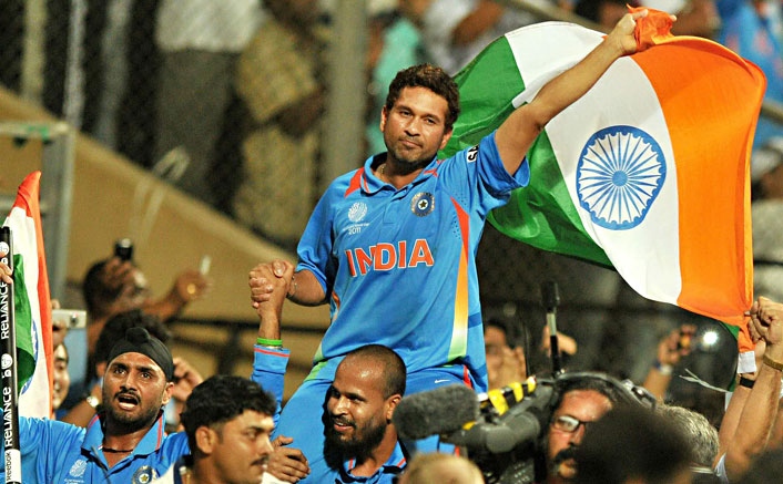 Sachin Tendulkar dubs for Sachin: A Billion Dreams in Marathi