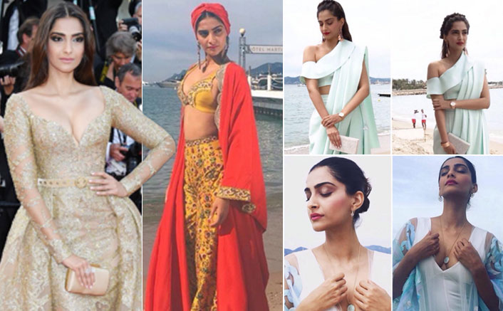Sonam Kapoor Dazzles Like a Sexy Beauty at Cannes