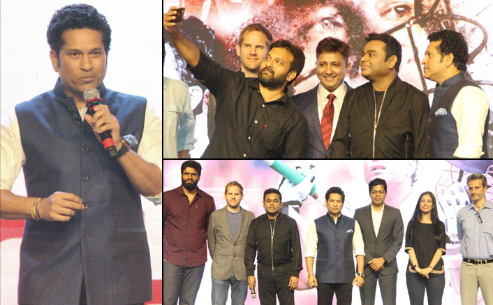 Song launch of film Sachin, A Billion Dreams
