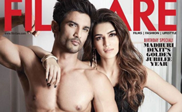 Sushant Singh Rajput & Kriti Sanon Set the Temperature Soaring With Filmfare