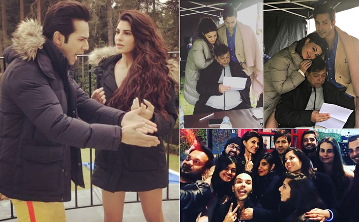 Varun and Jacqueline's camaraderie on sets of Judwaa 2 is a pure treat!