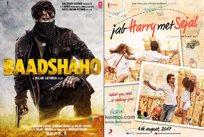 Baadshaho And Jab Harry Met Sejal Posters