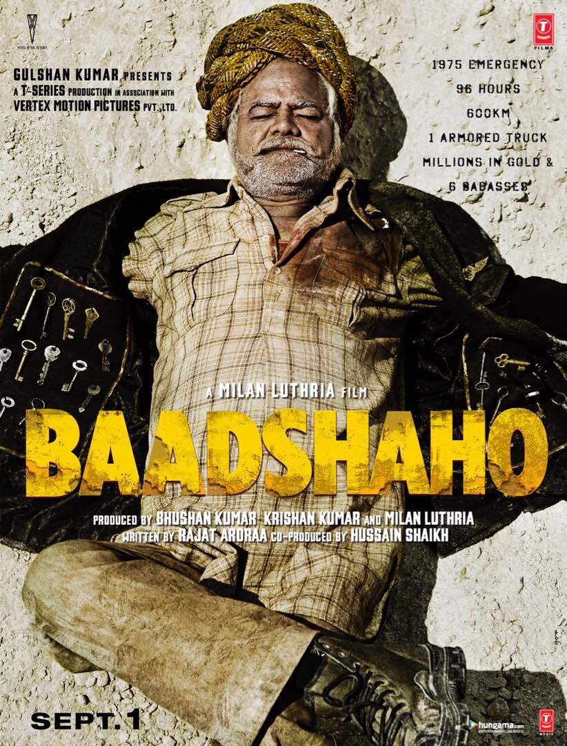 First Look Of Sanjay Mishra From Baadshaho